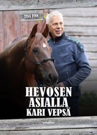 Hevosen asialla Kari Vepsä