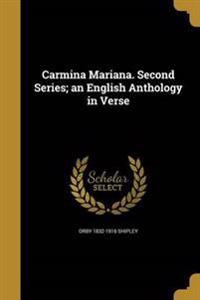CARMINA MARIANA 2ND SERIES AN