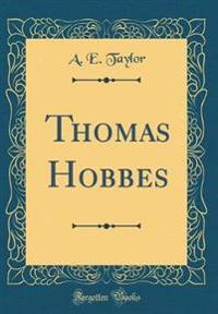 Thomas Hobbes (Classic Reprint)