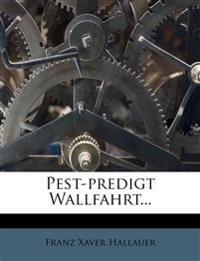 Pest-Predigt Wallfahrt...