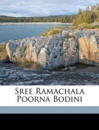 Sree Ramachala Poorna Bodini