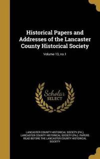HISTORICAL PAPERS & ADDRESSES
