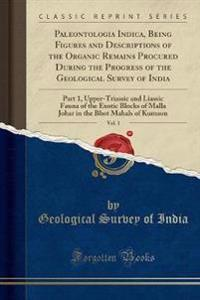 Paleontologia Indica, Being Figures and Descriptions of the Organic Remains Procured During the Progress of the Geological Survey of India, Vol. 1