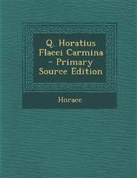 Q. Horatius Flacci Carmina