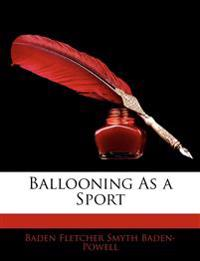 Ballooning as a Sport
