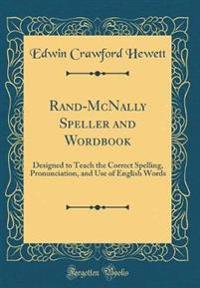 Rand-McNally Speller and Wordbook