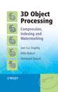 3D Object Processing: Compression, Indexing and Watermarking