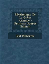 Mythologie De La Grèce Antique