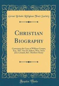 Christian Biography