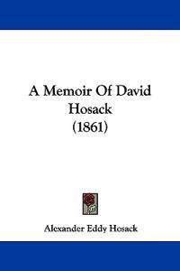 A Memoir of David Hosack