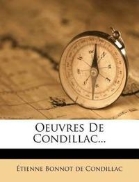 Oeuvres De Condillac...