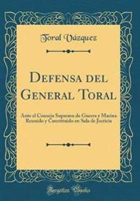 Defensa del General Toral