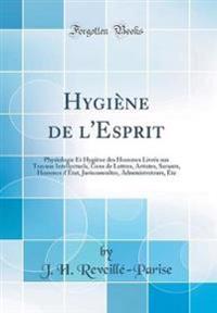 Hygiène de l'Esprit