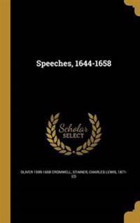 SPEECHES 1644-1658