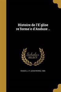 FRE-HISTOIRE DE LE GLISE RE FO