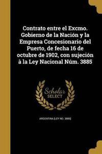 SPA-CONTRATO ENTRE EL EXCMO GO