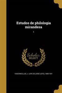 POR-ESTUDOS DE PHILOLOGIA MIRA