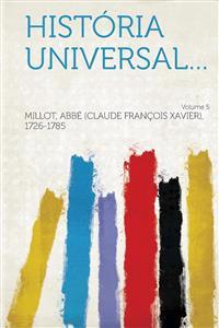 História universal... Volume 5