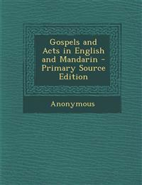 Gospels and Acts in English and Mandarin