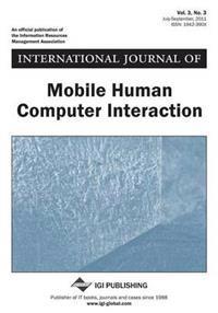 International Journal of Mobile Human Computer Interaction (Vol. 3, No. 3)