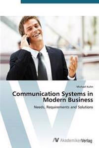 Communication Systems in Modern Business