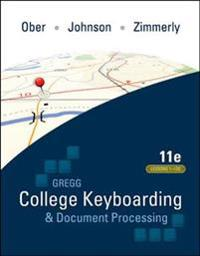 Gregg College Keyboarding & Document Processing