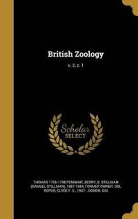 BRITISH ZOOLOGY V 2 C 1
