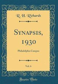 Synapsis, 1930, Vol. 6