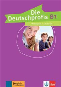 Die Deutschprofis B1. Medienpaket (2 Audio-CDs)