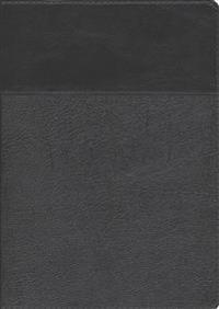 Biblia de Estudio Ryrie Ampliada: Duo-Tono Negor Con Indice