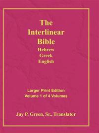 Interlinear Hebrew Greek English Bible-PR-FL/OE/KJ Large Pring Volume 1