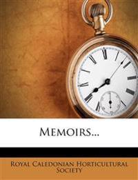 Memoirs...