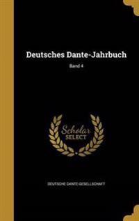 GER-DEUTSCHES DANTE-JAHRBUCH B