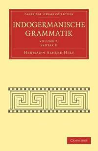 Indogermanische Grammatik 7 Volume Paperback Set Indogermanische Grammatik