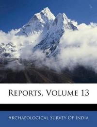 Reports, Volume 13