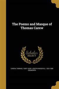 POEMS & MASQUE OF THOMAS CAREW