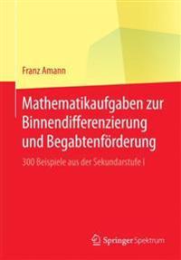 Mathematikaufgaben Zur Binnendifferenzierung Und Begabtenförderung