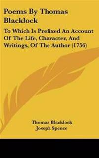 Poems by Thomas Blacklock