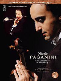 Paganini - Concerto No. 1 in D, Op. 6: Violin Play-Along 2-CD Set with CD (Audio)