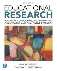 Educational Research: Planning, Conducting, and Evaluating Quantitative and Qualitative Research Plus Mylab Education with Enhanced Pearson  [With Acc