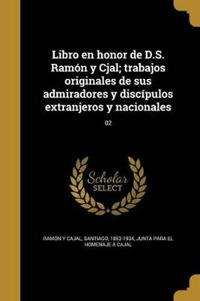 SPA-LIBRO EN HONOR DE DS RAMON