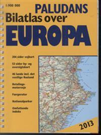 Paludans bilatlas over Europa