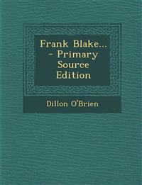 Frank Blake...