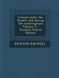 Ireland Under the Stuarts and During the Interregnum Volume 3 - Primary Source Edition