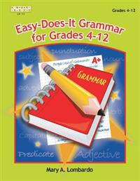 Easy-Does It Grammar for Grades 4-12