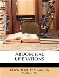 Abdominal Operations