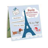 Paris Litte Book of Labels