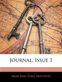 Journal, Issue 1