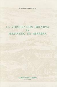 La Versificacion Imitativa En Fernando De Herrera
