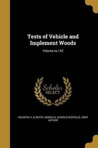 TESTS OF VEHICLE & IMPLEMENT W